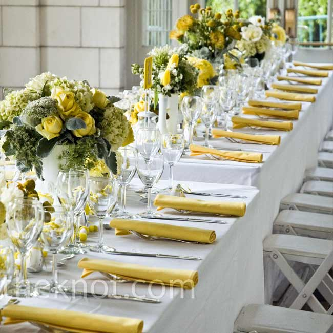 Giallo come il sole yellow as the sun wedding for La sorrentina brooklyn